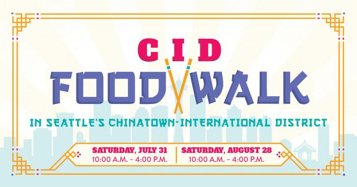 CID food walk graphic