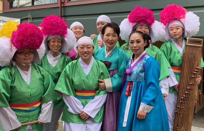 Korean performers