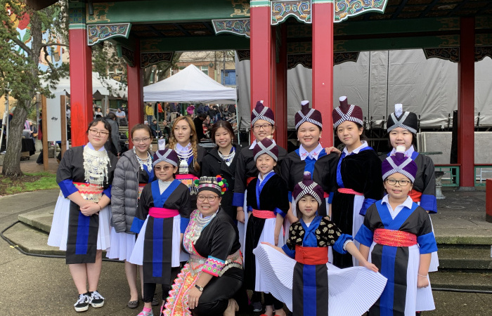 Hmong performers