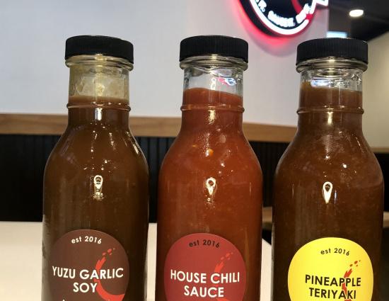 Ironsteak Sauces