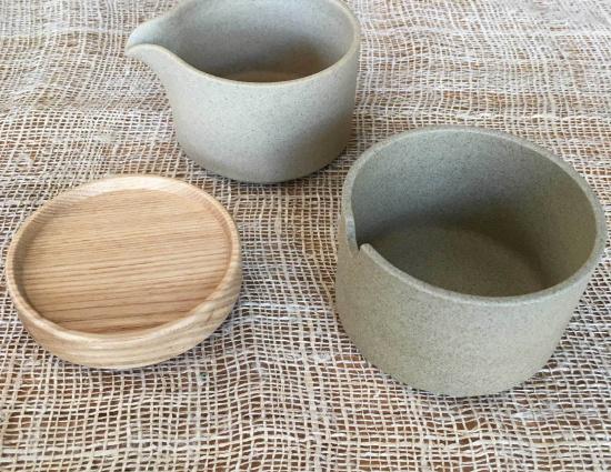 Hasami Porcelain Sugar & Creamer Set