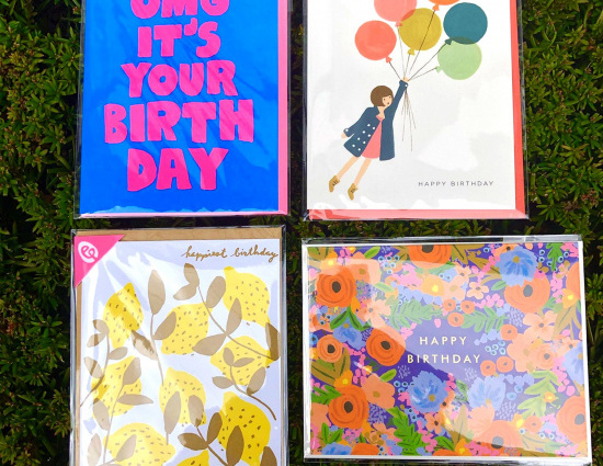 Birthday Card Set #1