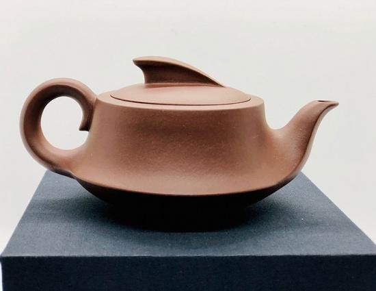 Sailboat Yixing Purple Clay Tea Pot