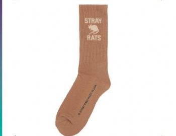 Trichome Rat Logo Socks