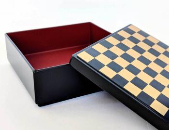 Heiando Japanese Lacquer Ichimatsu Box