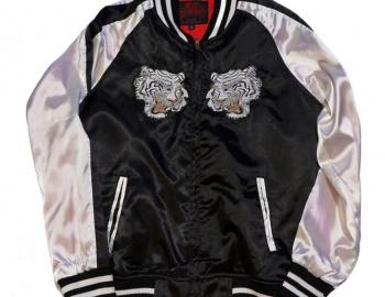 Sukajan White Tiger Jacket